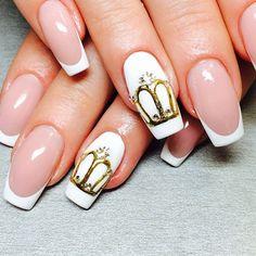 #ногти  #дизайн #дизайнногтей #коронынаногтях#стильные #модные»