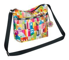 Disney It's a Small World Collection by LeSportsac - 2367 Small Cleo Crossbody with Charm