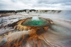 Grand Prismatic Spring, Yellowstone, Wyoming, United States