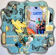 DT work for Anna's Craft Cupboard with Kaisercraft - Botanical Odyssey range. Anna Craft, Craft Cupboard, Good Times, Layouts, Gallery Wall, Scrapbooking Ideas, World, Frame, Coast