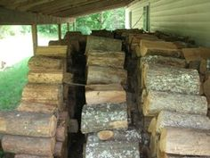 How To Stack Firewood - The Best Way