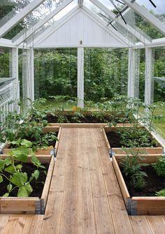 Green house frame