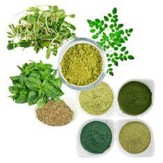 vegetable powders