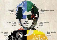 Él es su música, él es la música. Cerati es la definición perfecta del arte y de la magia que es crear algo nuevo de la nada y arrojarlo al mundo para que permanezca y lo cambié tal vez un poco. Un genio por siempre. Su legado es tan inmortal como su talento puro. Soda Stereo, Music Is Life, My Music, Rock And Roll, Boys Girl Friend, Rock Argentino, Rock Legends, Film Music Books, Me Me Me Song