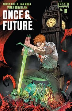 """Action and horror mix with folklore in this intriguing and terrifying comic."" James reviews Once & Future #18 from BOOM! Studios."