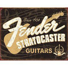 Fender Stratocaster 60th Anniversary Tin Sign Fender http://www.amazon.com/dp/B00KTZOCSW/ref=cm_sw_r_pi_dp_4Zmtwb1E99WKK
