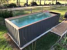 20 Cool Shipping Container Swimming Pools House Ideas Pinterest