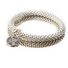 Armband Silber Stretch mit Anhänger | online kaufen bei desiary.de
