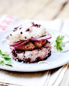 Hamburgers de veau à la coriandre pour 4 personnes - Recettes Elle à Table