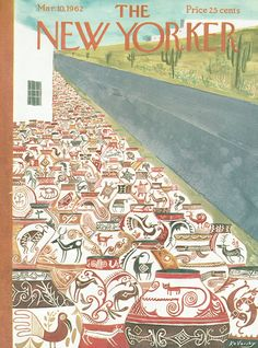 The New Yorker - Saturday, March 10, 1962 - Issue # 1934 - Vol. 38 - N° 3 - Cover by : Anatol Kovarsky