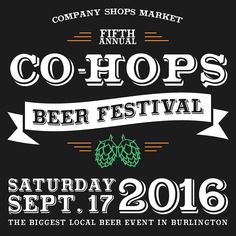 Are you ready?! Mark your calendar for our 5th annual Co-Hops Beer Festival coming up on Sept. 17th from 2-5pm. Tickets are on sale now at our website! (Link in bio) #cohops #cohopsbeerfest #localbeer