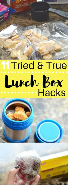Get ready for back to school with these 11 Tried and True Lunch Box Hacks! Make your mornings run smooth the easy way!