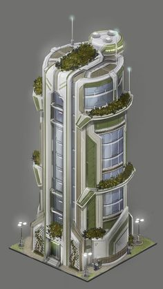 Terra Nova Army's staff  accomodation Concept Architecture, Sustainable Architecture, Green Architecture, Futuristic Architecture, Architecture Design, Futuristic City, Futuristic Design, Environment Design, Environment Concept Art