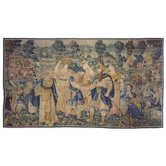 17th Century Flemish Historical Concord of Leaders Tapestry | From a unique collection of antique and modern tapestries at https://www.1stdibs.com/furniture/wall-decorations/tapestry/