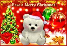 LOVE THIS CHRISTMAS GREETING, BECAUSE IT HAS A TEDDY BEAR AND HUGS IN IT!  ABSOLUTELY LOVE BOTH!!:)  I SHARE HUGS AND MY BEARY NICE EVERY DAY IN MY KINDERGARTEN CLASS!