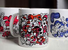 AJ design cup made by Aleksandra Janowska