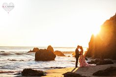 malibu beach engagement, el matador beach engagement, photography