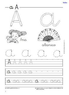 Fichas vocales y consonantes Tracing Worksheets, Spanish Worksheets, Pre Writing, Home Learning, Teaching French, Alphabet And Numbers, Cursive, School Teacher, Kids Education