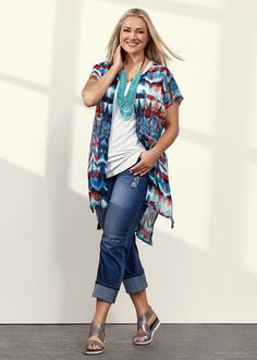 Plus Size women's Clothing, Large Size Fashion Clothes for WOMEN in Australia - MARGARITA SHIRT - TS14
