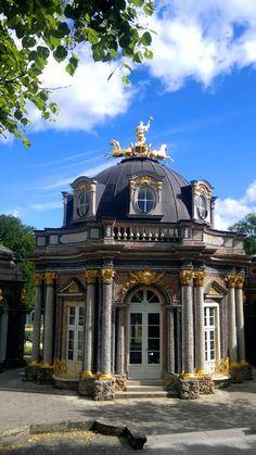 Eremitage Haupthaus Bayreuth / Oberfranken - Bayern - Germany by Robby-BF