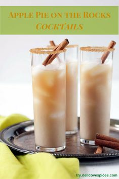 Liven up your cocktails, shots or even hot beverages with Dell Cove Spice Co.'s Cinnamon Kiss cocktail rim sugar. Korintje cinnamon and organic sugar are the star ingredients in our cinnamon flavored (Mix Drinks Sugar) Pina Colada, Beste Cocktails, Gourmet Popcorn, Silvester Party, Liqueur, Organic Sugar, Partys, Base Foods, Yummy Drinks