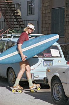 Venice Beach Roller Surfer of 1979