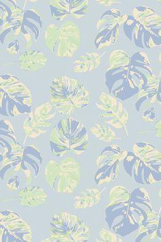 LINNÉA NILSSON LUNDELL Design wallpaper Monstera no 1  #Monstera #wallpaper #wallmural #floral #homedecor #tapet #photowallsweden