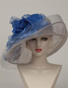 Ladies Tea Party Hats- Victorian Hats Louise Green First Place Derby Hat