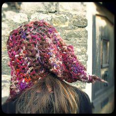 Freestyle ARtWeAR 'GeLfling'  Crochet slouch hat by Innerspiral