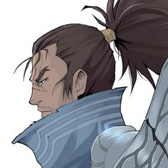 """I will follow this path until the end."" - Yasuo from League of Legends"