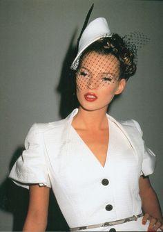 supermodelgif: Kate for John Galliano Spring...