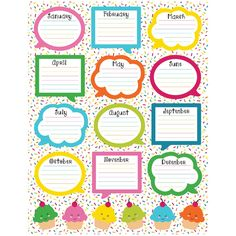 Recognize special events in your learning environment. The School Pop Birthday chartlet offers a fun way to remember your students' birthdays. A time-saving reference tool that coordinates with the Sc Birthday Chart Classroom, Birthday Bulletin Boards, Birthday Charts, Birthday Board, Classroom Supplies, Classroom Themes, Classroom Organization, Student Birthdays, Carson Dellosa