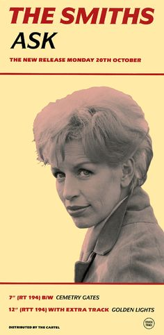 "The Smiths: Ask Cover Star: Yootha Joyce from the film ""Catch Us if You can"""