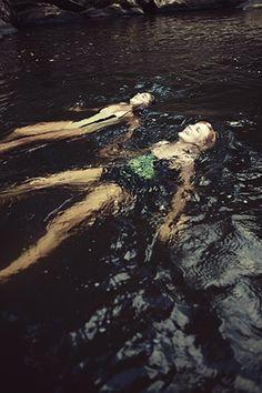 SWIMMING summer lake