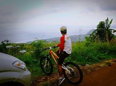 MTB with view
