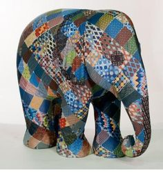 Save Mr. Patchwork | Elephant Parade | Contributing to the conservation of Asian Elephants African Forest Elephant, Asian Elephant, Elephant Love, Elephant Art, Elephant Stuff, Elephants Photos, Elephant Pictures, Elephas Maximus, All About Elephants