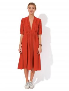 FORTE FORTE / ROBE SOIE MANCHE 3/4 Disponible sur : http://www.bymarie.com/marques/forte-forte.html #forteforte #vetement #clothes #robe #dress #fashion #mode #paris #marseille #sainttropez #chic #bymariestore
