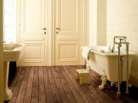 The official Quick-Step flooring website. Quick-Step designs and manufactures a wide variety of laminate, wood and vinyl floors that are easy to install and maintain in every situation. Basement Flooring, Wooden Flooring, Bathroom Flooring, Oak Flooring, Flooring Ideas, Bathroom Inspiration, Interior Inspiration, Bathroom Ideas, Dark Laminate Floors