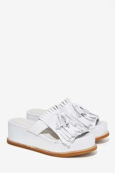 Jeffrey Campbell Penwick Leather Sandal