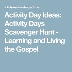 Activity Day Ideas: Activity Days Pioneer Trivia - Learning and Living The Gospel Mother's Day Activities, Young Women Activities, Activities For Girls, Activity Day Girls, Activity Days, Family Home Evening, Home And Family, Serving Others, Faith In God