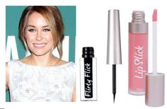 ...Lauren Conrad and her pretty, pretty make-up.      Get the look with Flirty Flick and 'Powder Puff' Lip Slick.