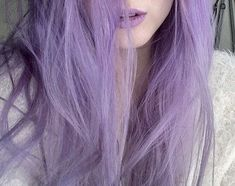 Lavender Aesthetic, Purple Aesthetic, Purple Dye, Purple Hair, Violet Hair, Aesthetic People, Brunette To Blonde, Down South, Cut And Style