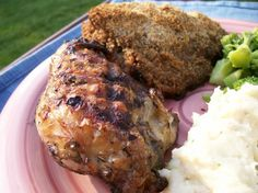 Armenian Herb Marinade Grilled Chicken Breasts. This recipe also works for lamb, and probably pork as well.