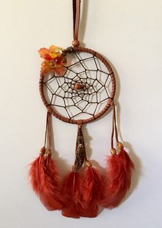 Autumn/fall inspired dreamcatcher - pinned by pin4etsy.com
