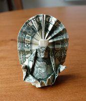 Dollar Origami Buddha v5 by craigfoldsfives