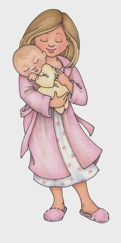 susan fitch design: more family clipart.   Mother and Child CLICK HERE TO DOWNLOAD