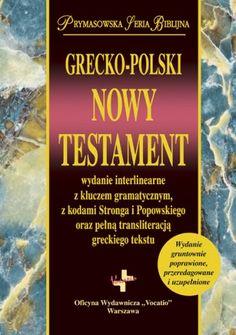 Grecko-polski Nowy Testament Księgarnia Vocatio.com.pl