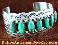 Native American Jewelry | Tuquoise Jewelry | Kingman Turquoise Jewelry