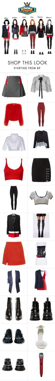 """""""Show Champion StarZ- Lucky Baby"""" by starz-official ❤ liked on Polyvore featuring FAY, Costarellos, Alexander McQueen, River Island, Alexander Wang, Anouki, WithChic, Versus, Dolce&Gabbana and Givenchy"""
