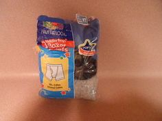BOYS BOXERS, 4 TODDLER, FRUIT OF THE LOOM,3 PAIRS, NEW IN PACKAGE.